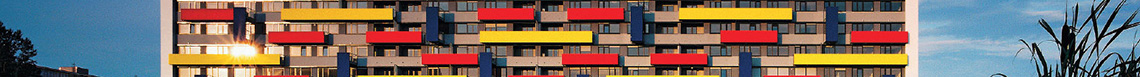 Residential Building Mondrian